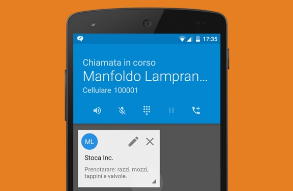 app android 'Caller Notes' - Display google contacts extra info during your calls