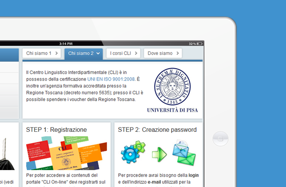 E-learning Centro Linguistico Interdipartimentale dell'Università di Pisa - NETCONN